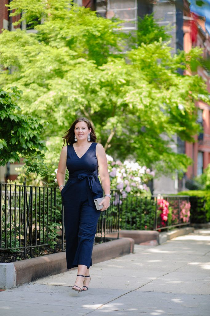 afdeacca178 Blogger Elizabeth of Always About the Details in j.crew tie-waster jumpsuit