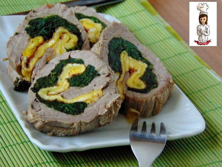 Il rollè di manzo in tegame è un secondo di carne ricco e saporito,ideale per pranzi domenicali !! Ingredienti per 4 persone -fesa di vitello in una sola f