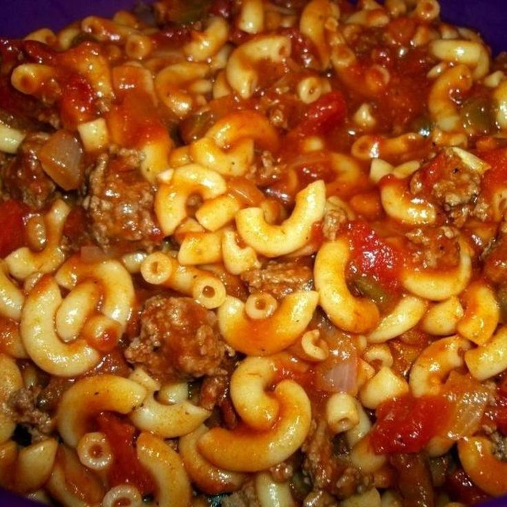 This is one of my favorite comfort meals when growing up. I still love it today. I made a pot for my folks last night, as they love it even better the next day...They'll be so be happy when I surprise them today.  Enjoy!