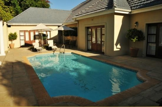 Guests who stayed in the Manor house posted this picture of the private pool on trip advisor Devon Valley Hotel: One of the 2 pools (the other pool is under trees0