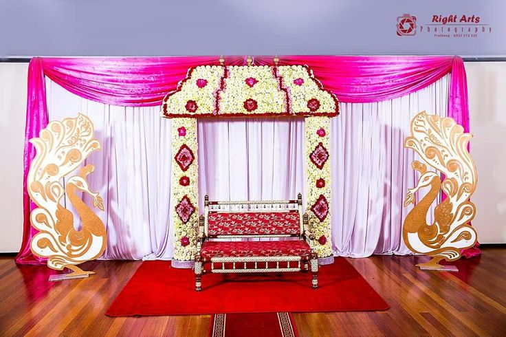 Fresh flower manavarai decor