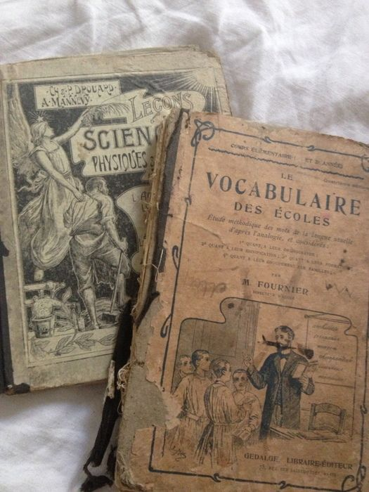 French School Books from Fleaing france