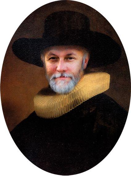 Portret of Emil Goozairow