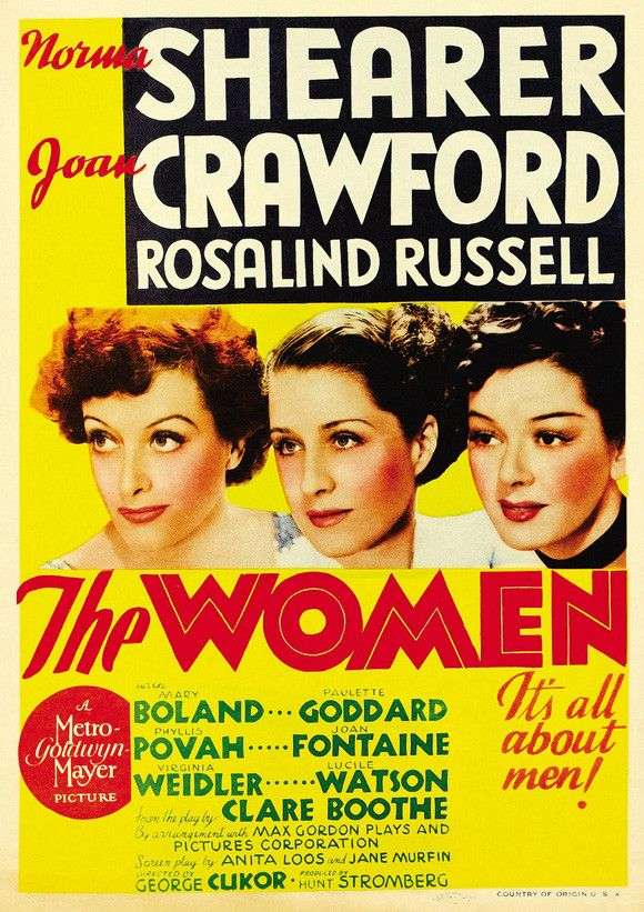 The Women 11x17 Movie Poster (1939)