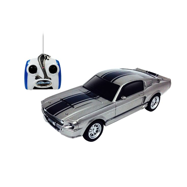N Silver Mustang Shelby GT500 RC Vehicle