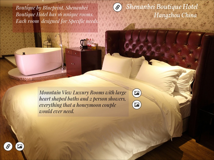 Honeymoon Suite Shenanbei Boutique Hotel Hangzhou China Created On Tactilize Boutique Hotel Luxury Rooms Honeymoon Suite