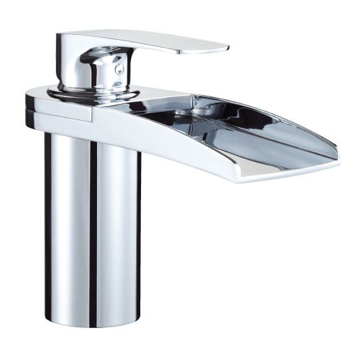 Loving the waterfall taps too.... they just feel so modern for our revamp