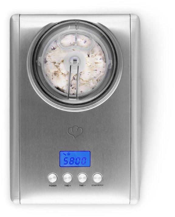 Springlane Kitchen Eismaschine Emma mit Kompressor 1,5 l ✓ Jetzt für 189,00 € (11.01.17) bei Springlane.de ✓ Versandkostenfrei