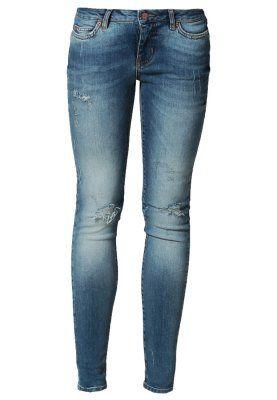 APRIL - Jeans Slim Fit - blå @mariarefs der er udsalg :)