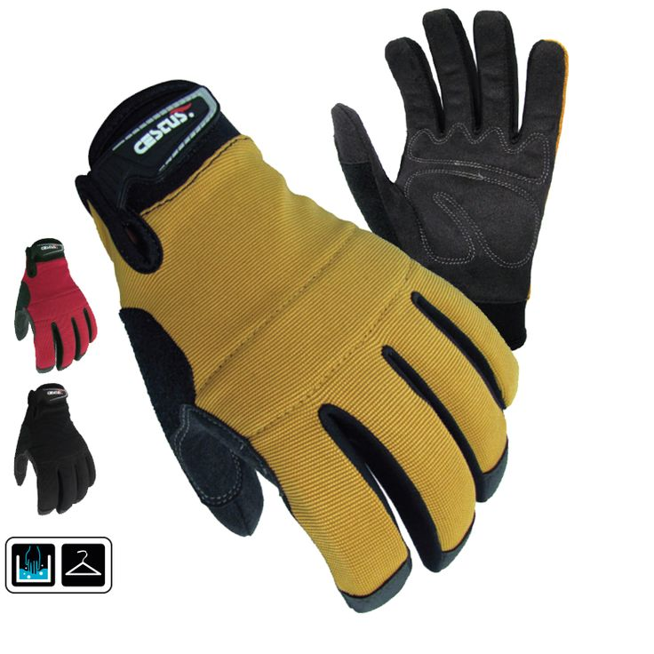 GenU: A versatile, lightweight glove with padded knuckles. Features two-way stretch spandex, and reinforced thumb, index, and middle fingertips for added durability.