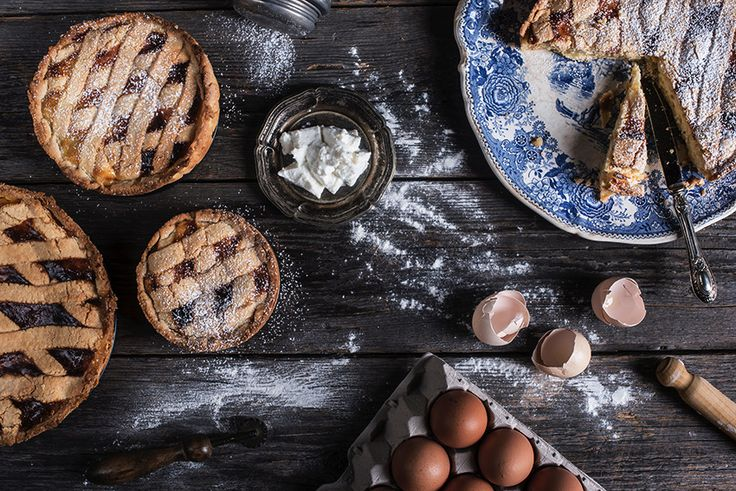 #pastiera #foodphotography #foodstyling