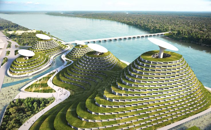 Smart City is a mixed use project in Detroit that combines agricultural, industrial, commercial and residential programs.