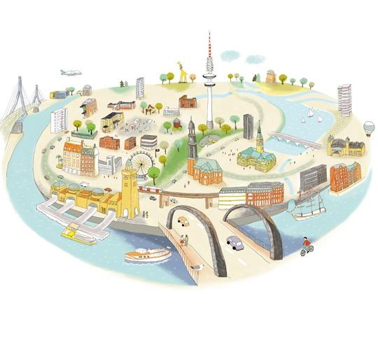 Hamburgkarte, SME, Agentur: hoheluft