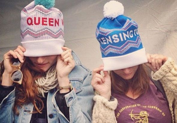 New toques let you show off your neighbourhood pride. From Lyndsay Borschke, available at Tuck Shop Trading Co.