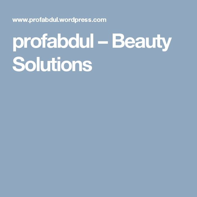 profabdul – Beauty Solutions