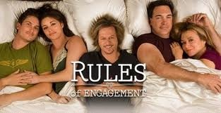Rules of engagement: Cbs Renewals, Favorite Things, Rules Of Engagement, Renewals Rules, Tv Series, Favorite Tvmovi, Funny Show, Performing Well, Newly Engagement