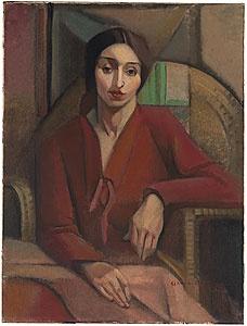 Grace Crowley  Portrait Study  1928