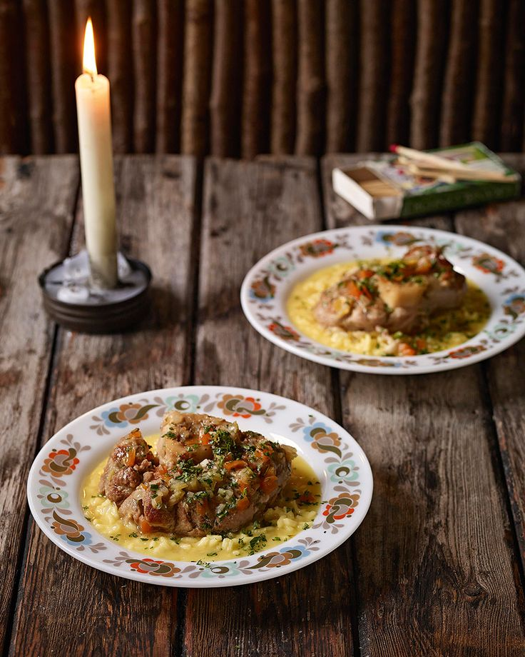 Osso Bucco with risotto - A recipe that sums up all that's good about winter cooking