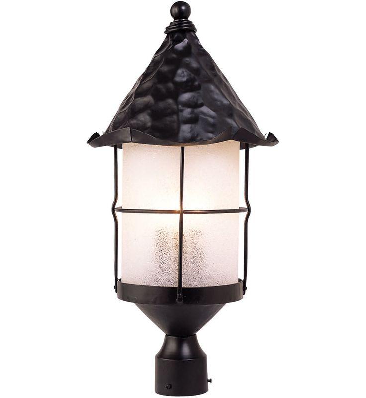 ELK Lighting - Rustica 3 Light Outdoor Post Light