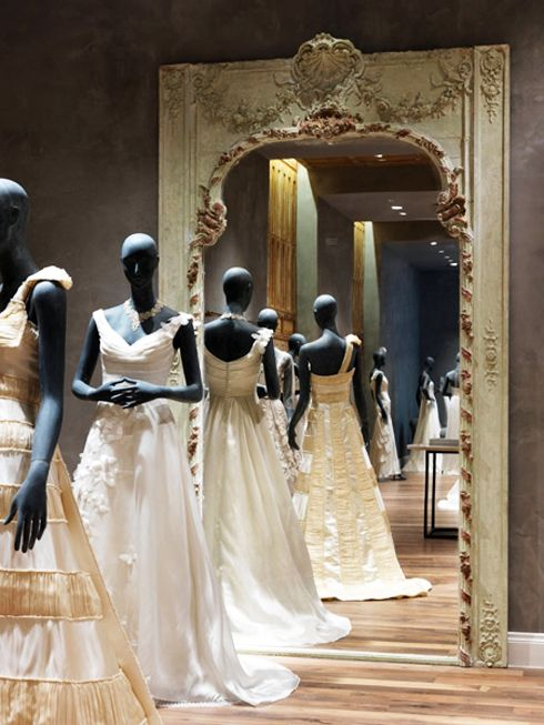 119 best bridal wedding displays with mannequins images for Wedding dresses stores in houston