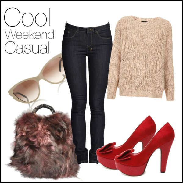 """""""Cool Weekend Casual"""" by laceandbuckles on Polyvore"""