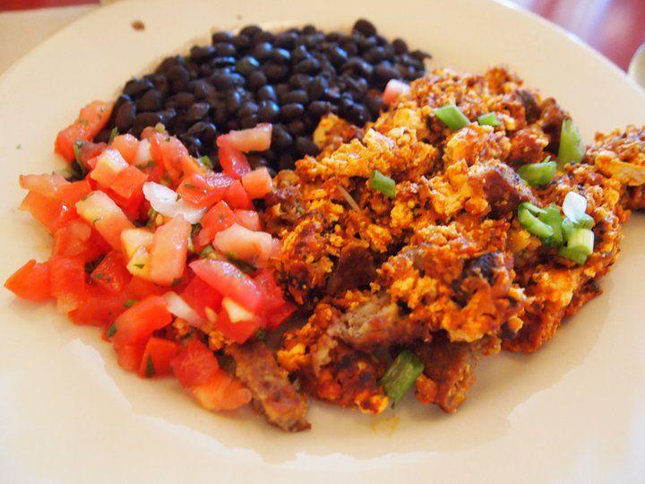 vegan spicy mexican tofu scramble vegan mexican recipes veggie mexican ...