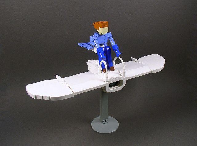 Nausicaa's Glider by Ochre Jelly, via FlickrNot Them Miyazaki, Miyazaki Film, Film Lego, Ghibli Stuff, Nausicaa Lego, Nausicaa Gliders, Lego Stuff, Studios Ghibli, Character