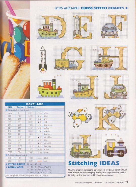 Gallery.ru / Photo # 44 - The world of cross stitching 045 May 2001 - tymannost