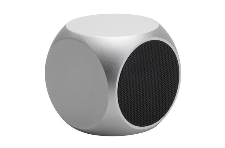 Qube Mini-Lautsprecher - Silber von Matrix Audio