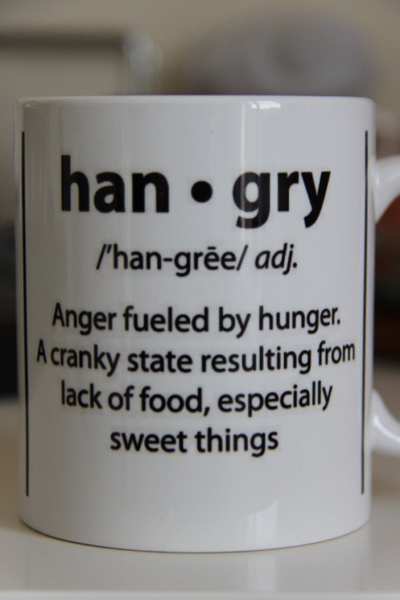 @Taylor Adolphson  ARE YOU HANGRY  great mug for foodie friends by MeHangry on Etsy, £9.99
