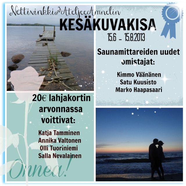 Kesäkuvakisa on päättynyt ja voittajat selvillä | Nettivinkki.com