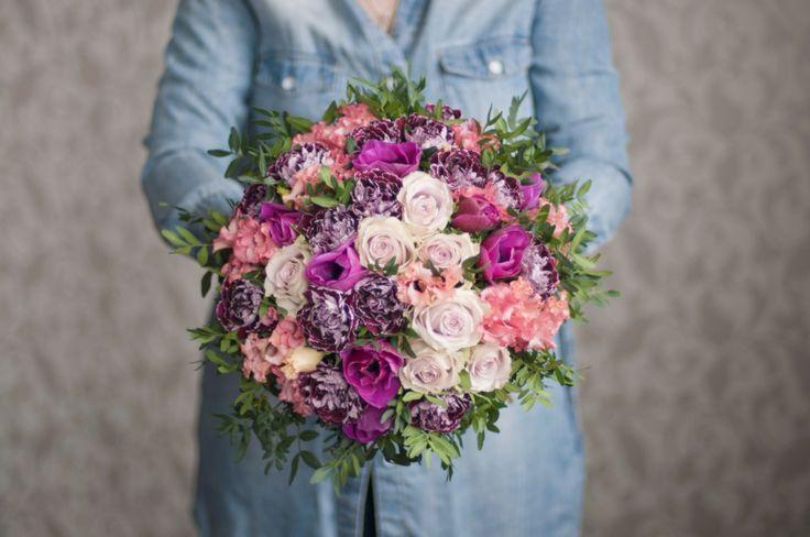 Букет в фиолетовых тонах / Violet bouquet