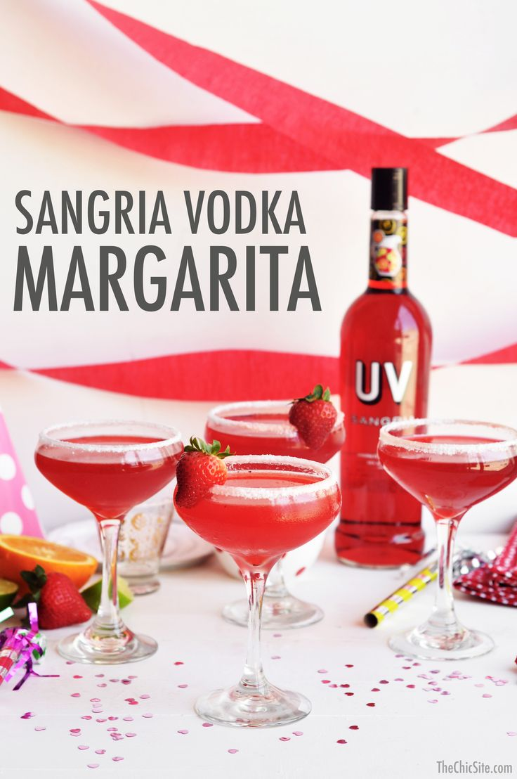 sangria vodka cocktails