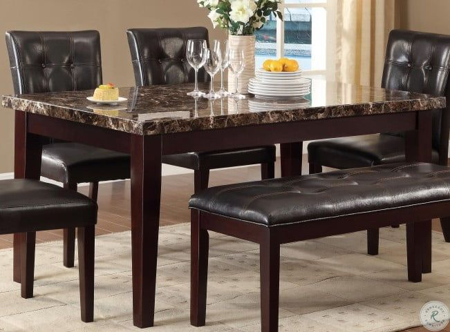 31++ Marble dining table with bench Best