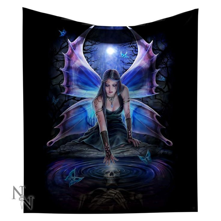 Immortal Flight Fleece Blanket Throw or Wall Hanging 160cms sq