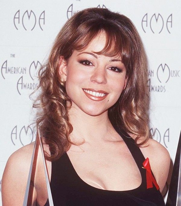 Mariah Carey's brows and lip liner are so '90s