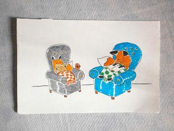 Rossi Mattia Comics -  -98: Nebbia 2.0 - Non si può stare a letto per sempre... Fog 2.0 - You can't stay in bed forever...#fox #animal #love #volpi #read #book
