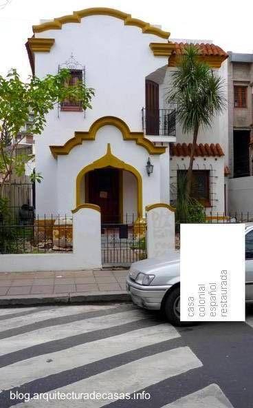 Mejores 70 im genes de casas teja en pinterest - Fotos de casas estilo colonial espanol ...