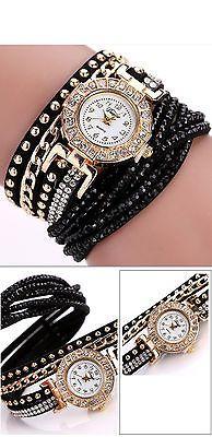 Montre Femmes Marque De Luxe D'or De Mode Cristal Strass Bracelet Femmes Dames