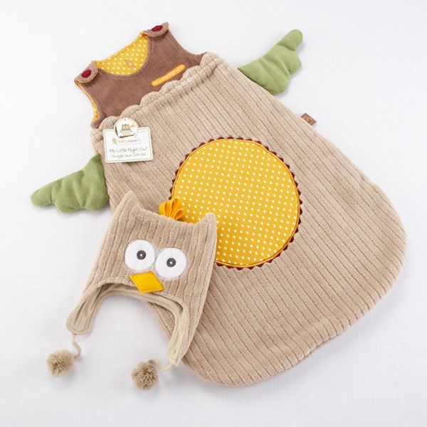 Owl Snuggle Sack & Cap, so cute!