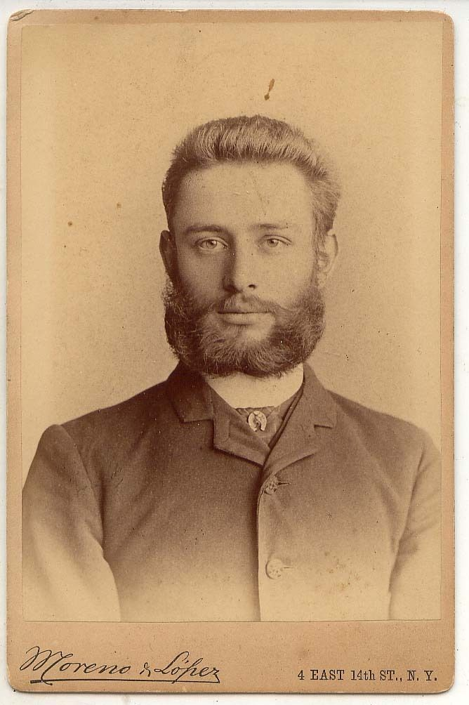 Cute Boys of The Past 3 Ned 1886 Cabinet Card Moustache Beard NYC Hunk | eBay