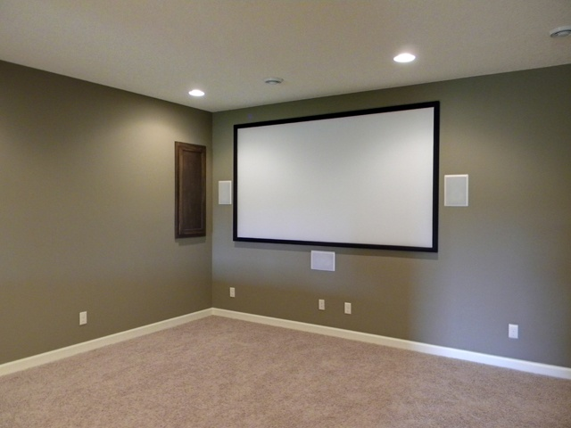 Ldk custom lower level home theatre with surround sound recessed ldk custom lower level home theatre with surround sound recessed speakers custom lower levels pinterest surround sound sciox Images