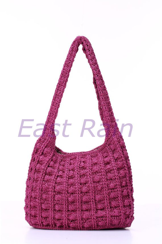 crochet crochet bag shoulder bag handbag handmade girl purse give thank gift idea  piercing party bag weekendbag afternoon bag aunt gift bag