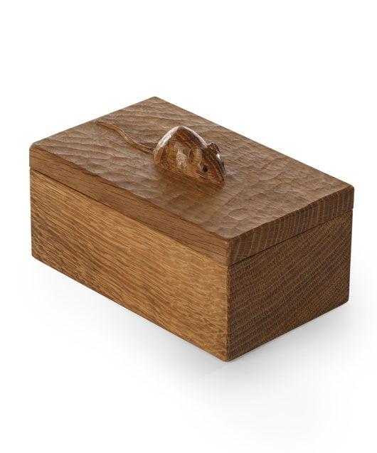GS130 Solid Oak Trinket Box 7½