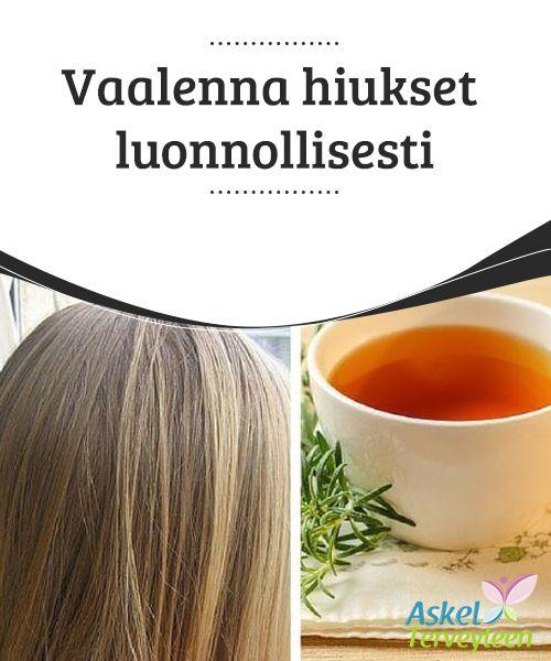 Vaalenna hiukset luonnollisesti   Jos olet kiinnostunut hiusten luonnollisesta vaalentamisesta, löydät tästä artikkelista parhaat vinkit hiusten #vaalentamiseen ja #kirkastamiseen kotioloissa. Muista kuitenkin, että jos hiuksesi ovat luonnostaan tummat, on #mahdotonta vaalentaa hiuksia kotikeinoilla täysin blondeiksi.   #Kauneus