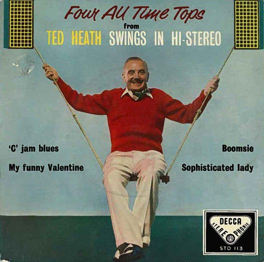 Ted Heath - Four All Time Tops From Ted Heath Swings In Stereo (Vinyl) at Discogs
