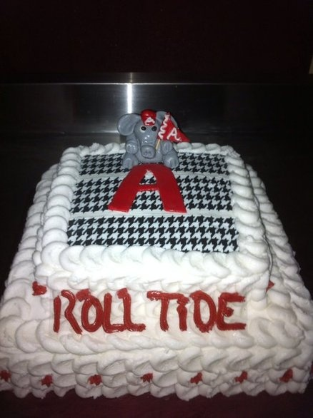 Alabama Cake  By Dana CakesDecorcom Decorating Website                                                                                                                                                                                 More