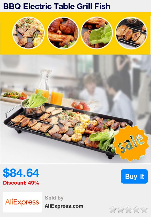 BBQ Electric Table Grill Fish Household Iron Disc Smokeless Barbecue Stove Nonstick Oven Hotplate Roast Meat Equipment For Party * Pub Date: 16:54 Jun 6 2017