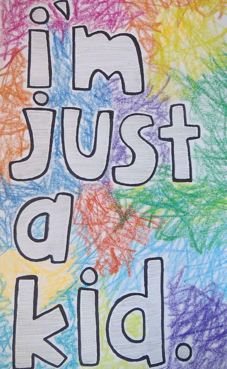 Im just a kid and my life is a nightmare . . . Simple Plan lyrics #handlettering #typography dani-lela.tumblr.com
