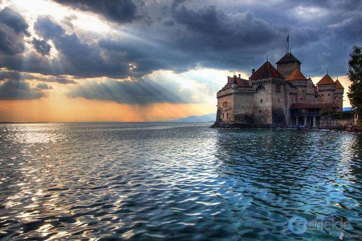 Castello di Chillon - Ginevra (Svizzera)